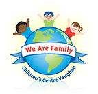We Are Family Children's Centre Vaughan Sticky Logo