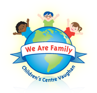 We Are Family Children's Centre Vaughan Retina Logo