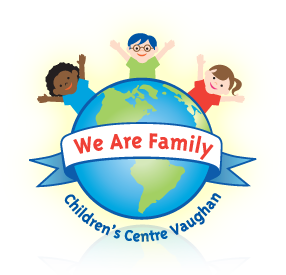 We Are Family Children's Centre Vaughan Sticky Logo Retina